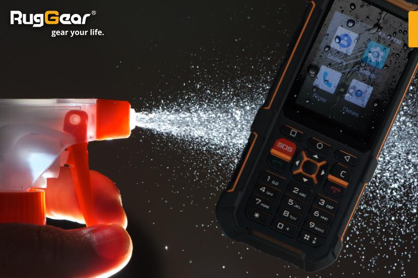How to disinfect RugGear phones